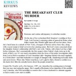 Kirkus Reviews on The Breakfast Club Murder