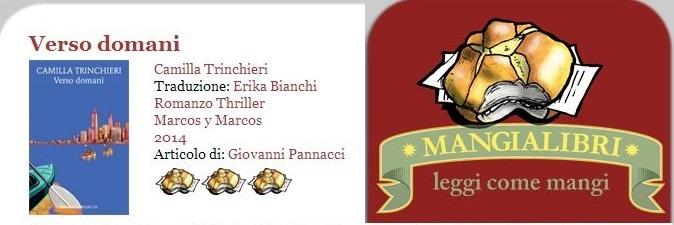 Mangialibri: Verso domani, Camilla Trinchieri