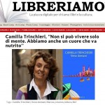 The webzine Libreriamo interviews Camilla Trinchieri