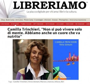 Libreriamo interviews Camilla Trinchieri